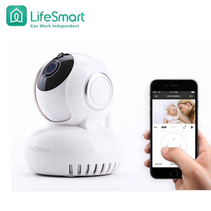 Lifesmart Brand Home Automation Smart IP Camera Wifi Wireless Remote Control CCTV Camera For Security Alarm System Night Version free shipping child learning model dental tooth teeth dentist model for teaching study odontologia