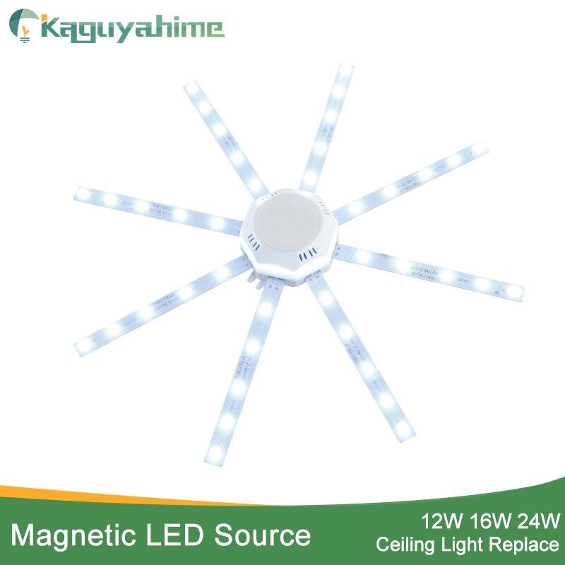 Led Lighting Celling Lamp Lighting Source Ac220v 12w 18w 24w 36w Led Panel Light Led Light Board Octopus Light Tube Replace Ceiling Led Lamp Without Return