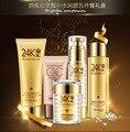 2018 Bioaqua 24K Gold Gold Moisturizing Face Five-piece Skincare Set Face Care Cosmetics Set