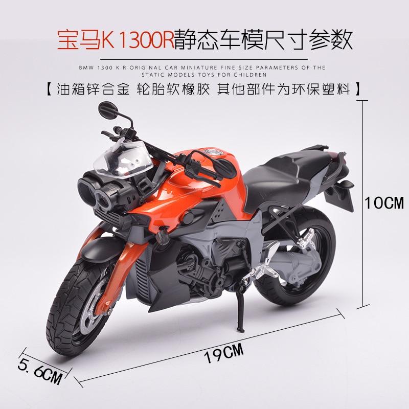 Legering simulering motorcykel leksak, dekorativ motorcykel modell. - Bilar och fordon - Foto 4