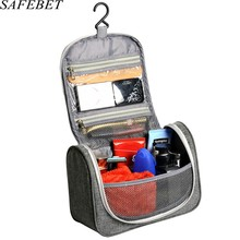 safebet brand women men large waterproof makeup bag toiletry bag travel cosmetic bag organizer case necessaries