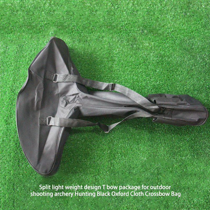 Perpecahan desain ringan T paket busur hitam untuk pemotretan di luar - Berburu