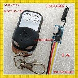 Mos no sound mini receiver transmitter dc3 5v 3 7v 5v 6v 7 2v 8 4v.jpg 250x250