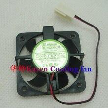 FONSONING DFB401012M 40*10 мм 12 В 0,7 Вт 2 провода двойной шар вентилятор охлаждения