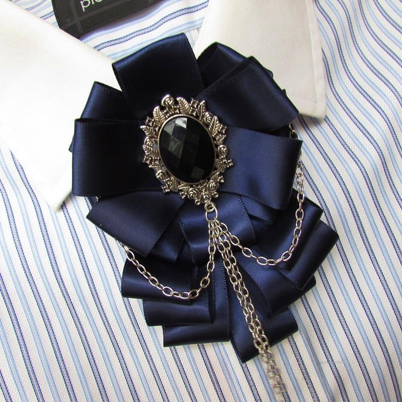 Envío gratis moda casual hombre mujer hombre lujo británico exclusivo negocio original coreano novio boda pajarita tocado