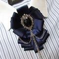 Free Shipping fashion casual Men's male female British luxury exclusive original business Korean groom wedding bow tie on sale