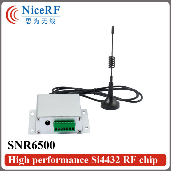 SNR6500 5 Вт Беспроводной Приемопередатчик kit (433 МГц RS232 SNR6500 Модуль + 2 шт. Антенна + 2 шт. Питания питания + 2 шт. USB Brigde доска)