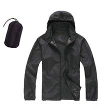 YOUGLE Men&Women Quick Dry Skin Jackets Waterproof Anti-UV Coats O