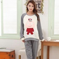 New Arrival Autumn Winter Maternity Pajama Set Women Breastfeeding Nursing Sleepwear Comfy Homewear Tops+Pants