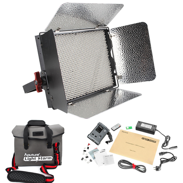 Aputure Licht Storm LS 1 s + Messenger Bag Kit LED Video Licht ...