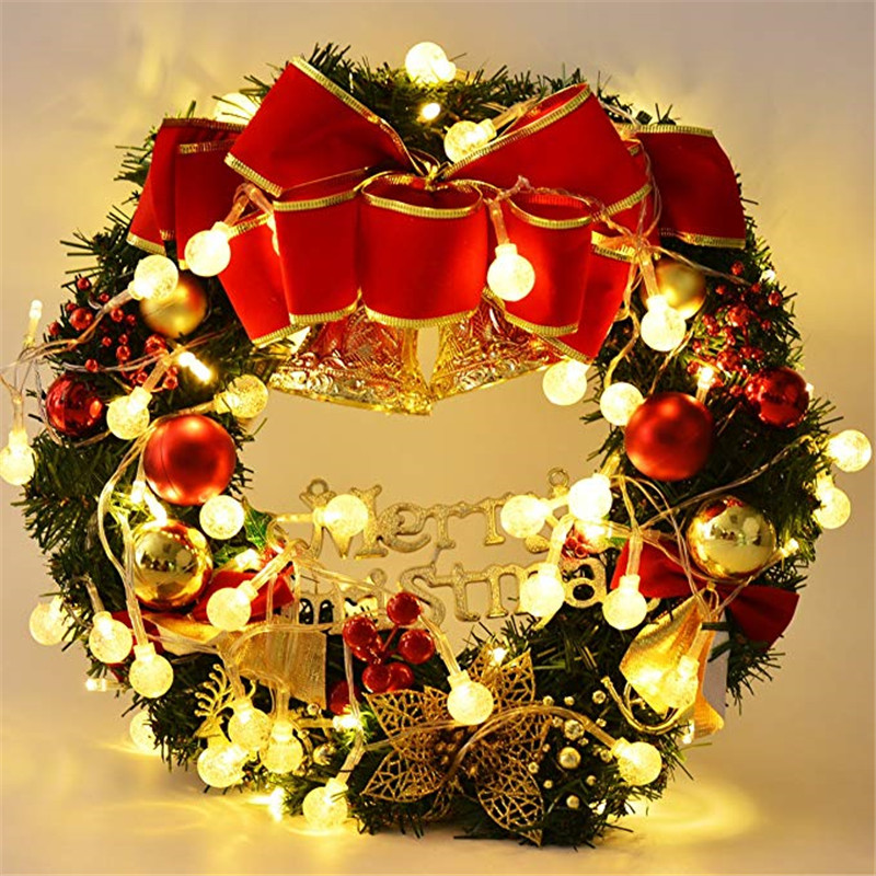 10M 100 Ball Multicolor Christmas LED String Lights 110V 220V IP44 Outdoor Wedding Party Holiday Decoration Lights Luces 3