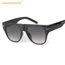 2019 Women Flat Top Sunglasses Vintage Cat Eye Brand Designer Sun Glasses feminino Ladies Black Pink Glasses uv400 oculos de sol