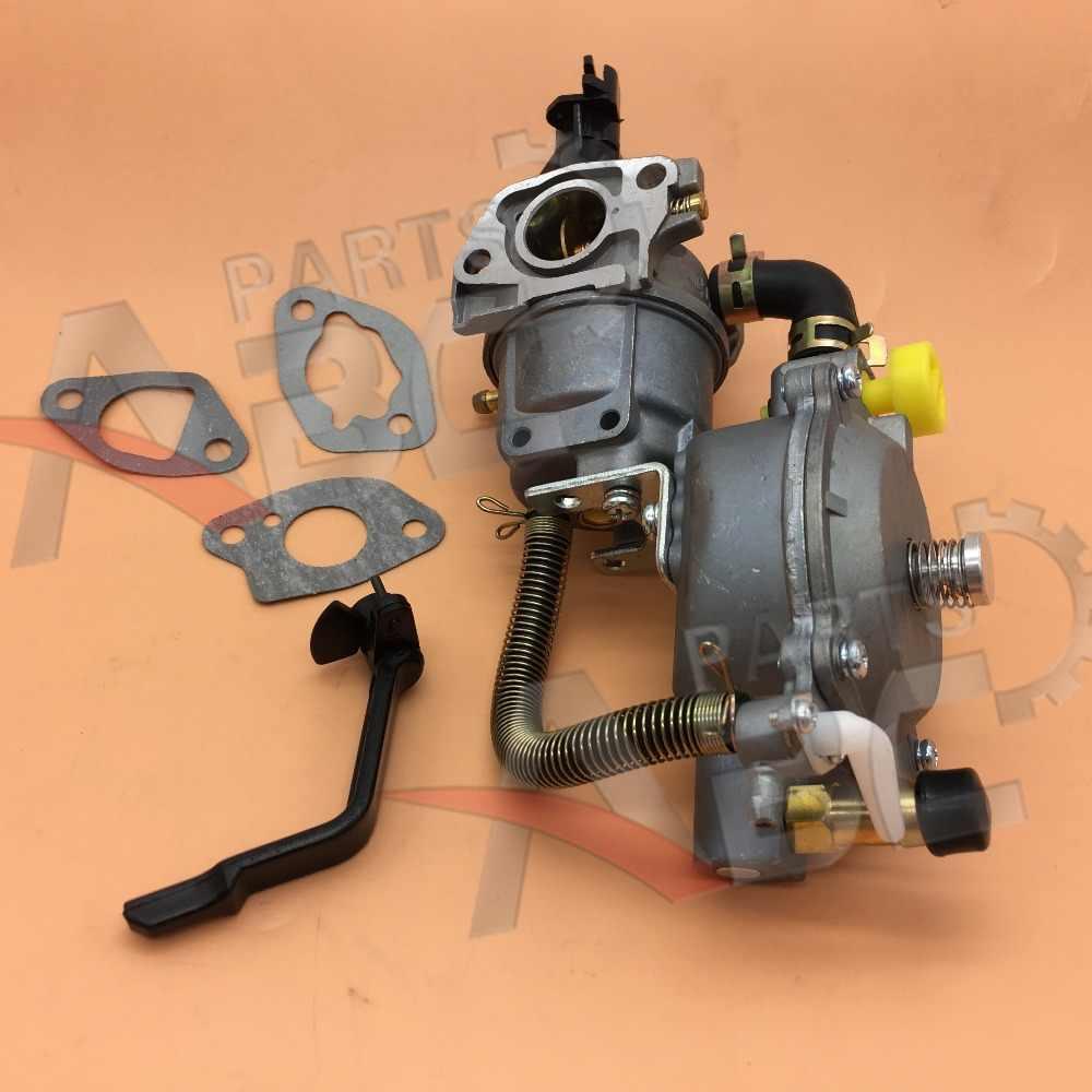 ثنائي الوقود المكربن w/مضخة المياه تحويل عدة ل مولد gx160 gx160 168f 170f محرك