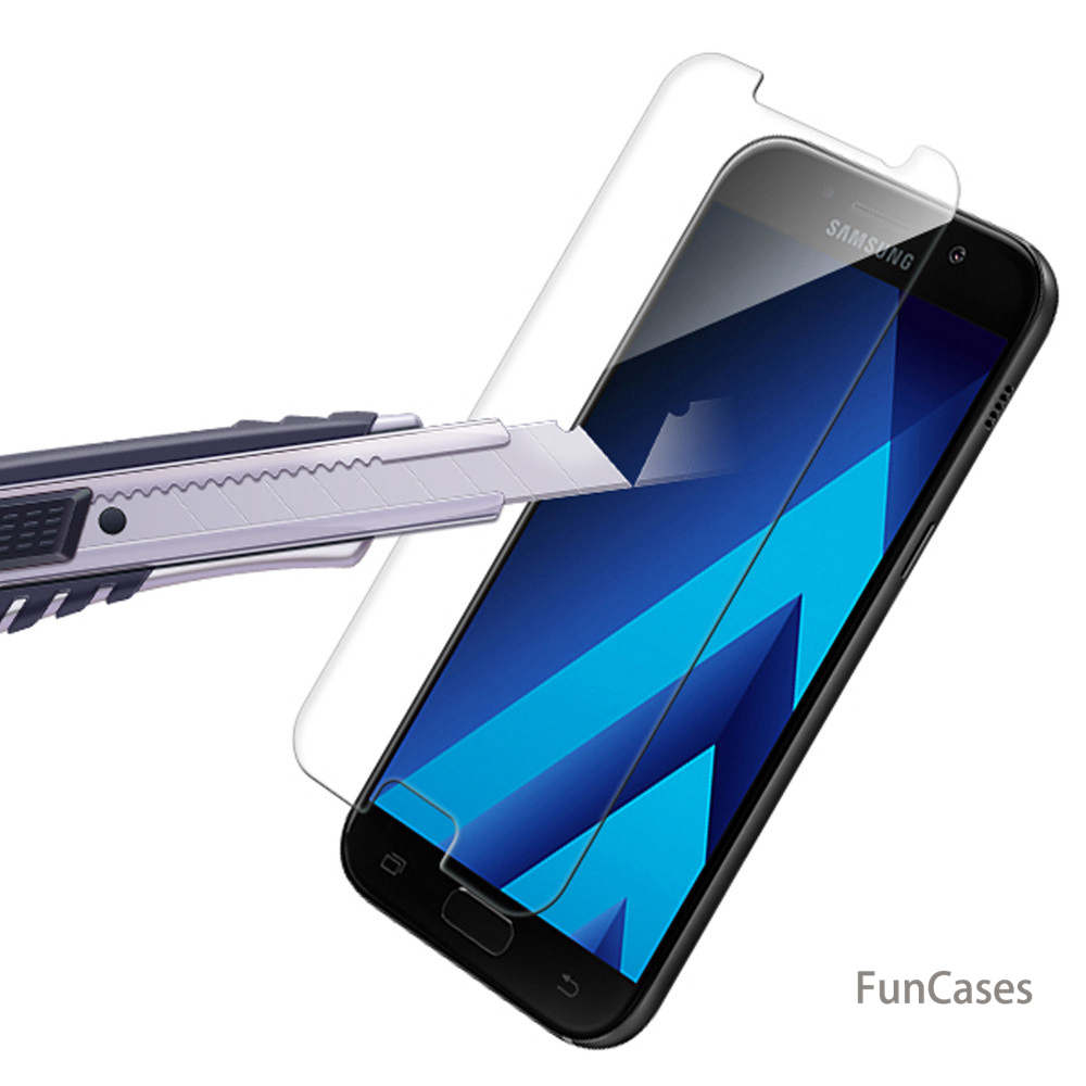 Tempered glass For Samsung Galaxy J5 J3 A5 A3 S7 Prime 2017 <font><b>J2</b></font> A8 J6 2018 film 9H 0.26 Real Premium Screen Protector Protective image