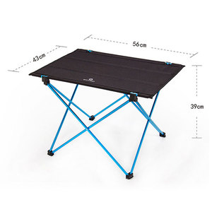 Image 3 - Modern Outdoor Picnic Table Camping Portable Aluminum Alloy Folding Table Waterproof Oxford Cloth Ultra Light Durable Tables