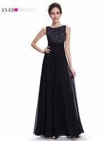 Clearance Sale Ever Pretty Women Vintage Evening Dresses A Line O Neck Sleeveless Floor Length