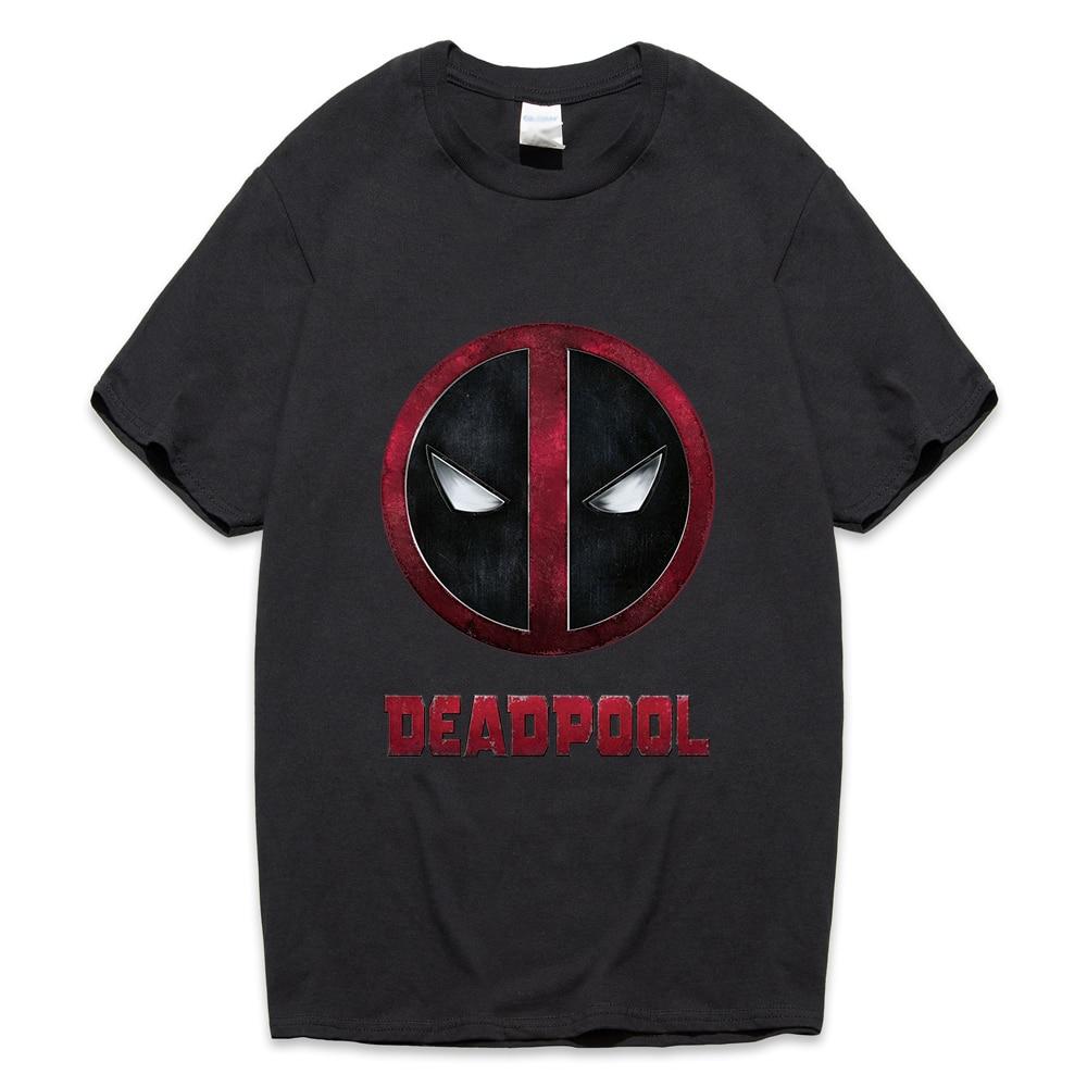 Deadpool T Shirt Anime Movie streetwear casual Cotton T-shirts men 2019 male Comic Originality Tops Tee Homme casual camisetas
