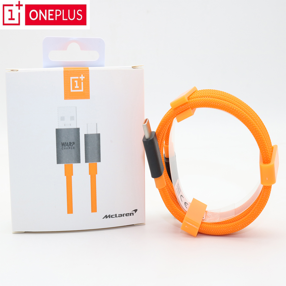 Oneplus Cable Fast-Charger Warp Mclaren Quick Original For One-plus/7-6t/6-5/.. 6A