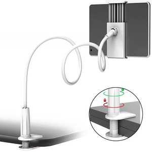 Universal Magnetic Phone holder for mobile phone Foldable 360 Degree Rotating Tablet Holder Mini Bedside Desk Mount Bracket