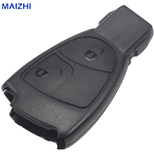 hot deal buy jingyuqin 10pc 2 button remote car key case shell for mercedes for benz b c e s ml slk clk class key shell fob cover car-styling