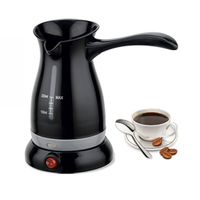 250ML Turkey Coffee Maker Electrical Coffee Pot Food Grade Cafeteira Expresso Food Grade 360 Degree Rotate