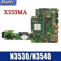 Amazoon X553MA Laptop motherboard for ASUS X553MA X553M A553MA D553M F553MA K553M Test original mainboard N3530/N3540 4 Core CPU