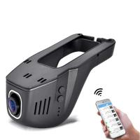 Car DVR Dash Camera 1080P Night Version 12MP 165 Wide Angle WiFi Registrator Dash Cam 165 Degree Wide angle Lens DVRs Camcorder
