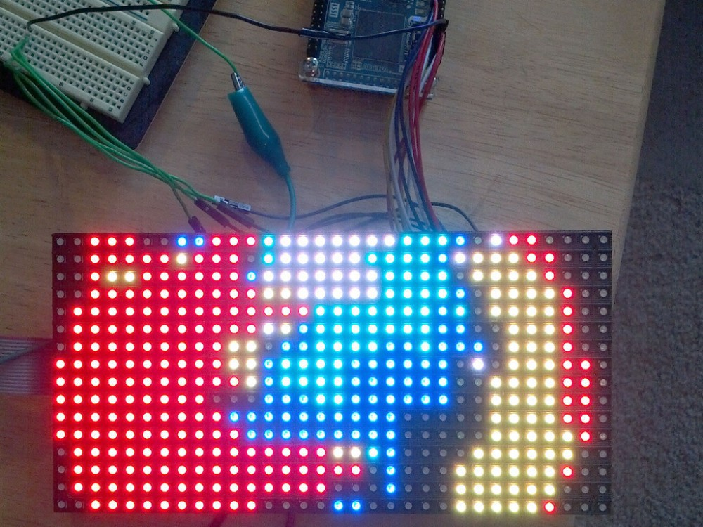 led_matrix_fpgamatrix