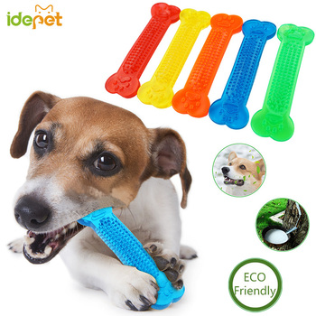 Dog Toys Pet Molar Tooth Cleaner Brushing Stick trainging Dog Chew Toy Dogs Toothbrush Doggy Puppy Dental Care Dog Pet Puppies 1