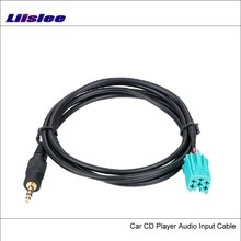 Liislee Original Plugs To AUX Adapter 3.5mm Connector For Volkswagen VW Car Audio Media Cable Data Music Wire