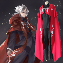 Anime Fate Apocrypha Cosplay Costumes Shirou Kotomine Costume Priest Uniforms Halloween Party Game