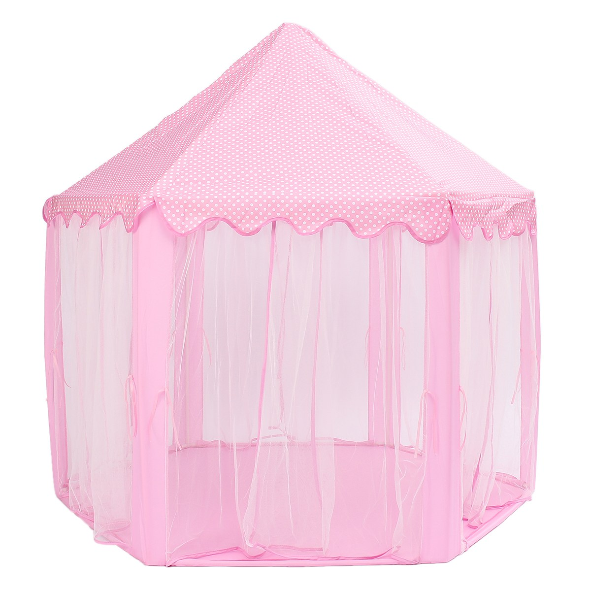 Portable Princesse Château Jouer Tente Activité Fée Maison Fun Playhouse Tente De Plage Bébé jouer Jouet Cadeau Pour Les Enfants - 4