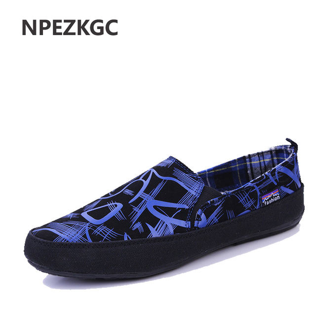 Men Shoes 2017 Summer Loafers New Breathable Canvas Shoes High Quality Casual Footwear Fashion Light men sneaker