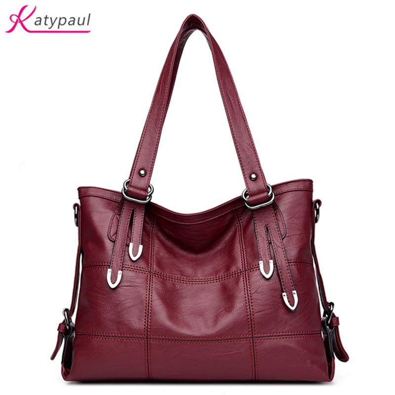 Bolsa Feminina Women Shoulder Bag Famous Brands Designer Bags 2017 Leather Handbags Ladies Luxury Handbags Women Tote Bags Gray leather bags handbags women s famous brands bolsa feminina big casual women bag female tote shoulder bag ladies large l4 2987