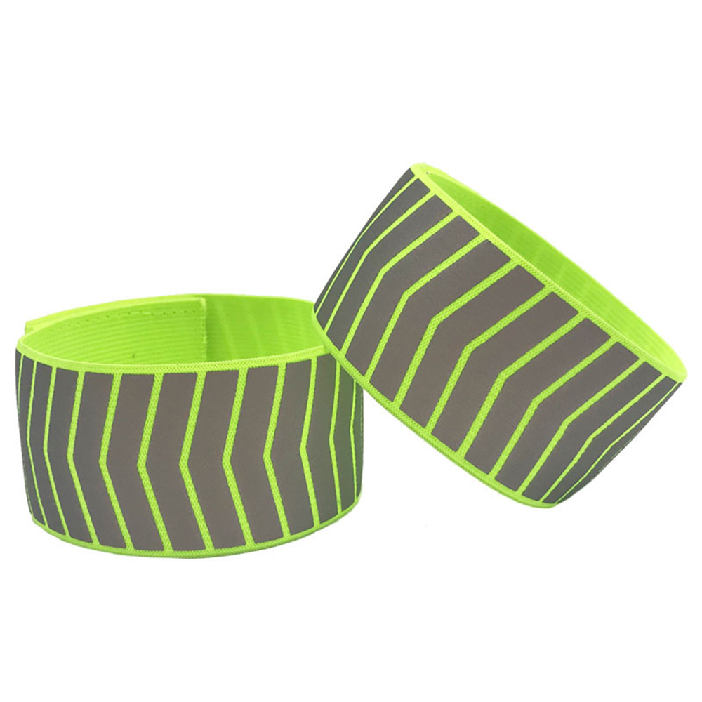 Strap Sport Tape Bike Safety Alert Warning Armband Cycling Reflective Strips