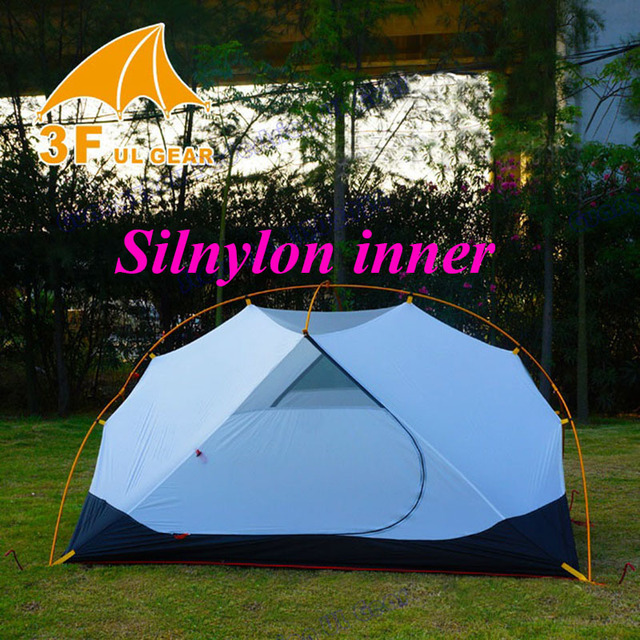 High quality silnylon 3F summer inner ultralight 2 person 1 layer c&ing tent : silnylon tent - memphite.com