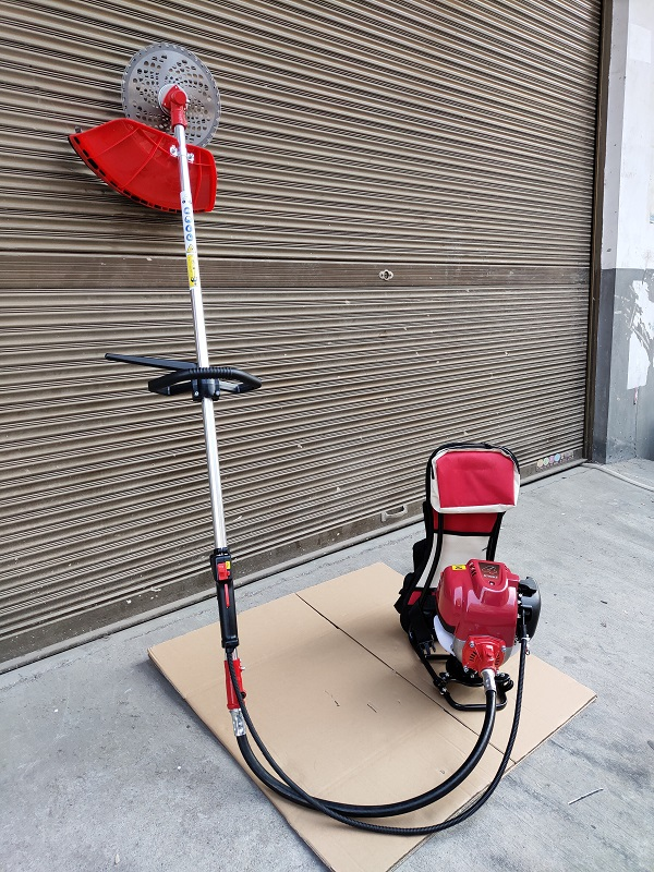 Big  3 1 NEW GX35 Stroke Back MotorGrass Pack Attachment Trimmer CutteTiller MODEL Brush In 4