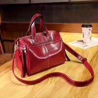 Genuine Leather Women Bag Women Crossbody Bags Bolsas Feminine Shoulder Messenger Bags Brand Female Bag Leather Handbags new T48