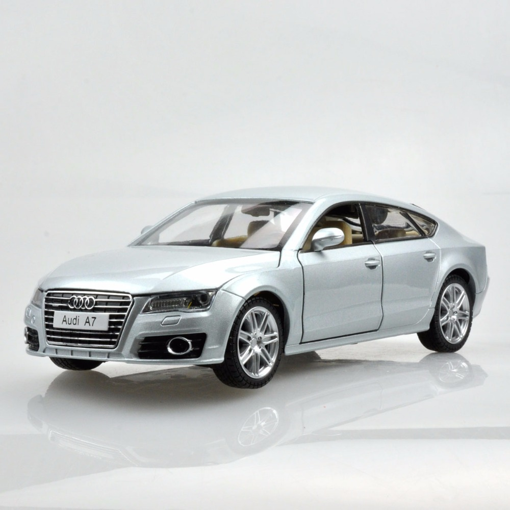 High Simulation 1:24 Scale New Audi A7 Sportback Alloy Car Model Metal Die Cast Toys For Kids Birthday Gifts Collection Toys