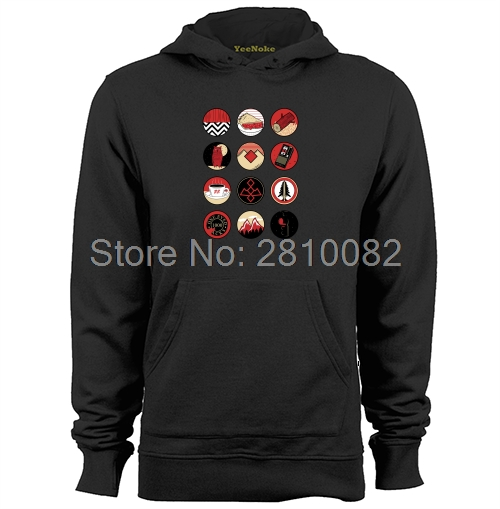 Iconic Twin Peaks Mens & Womens Graphic Hoodies Sweatshirts