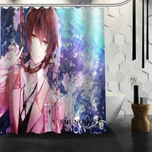 ShunQian Bungou Stray Dogs Shower Curtain Funny Curtain For Bathroom Waterproof Polyester Fabric Eco-Friendly Bath Curtain Gift(China)