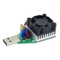 Новые DC 3,7 ~ 13 В USB 15 Вт Регулируемый постоянного тока Электронные нагрузки разрядник