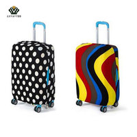 Hot Travel Luggage Suitcase Protective Cover Elastic Suitcase Dust Covers Box Sets Travel Apply To 18
