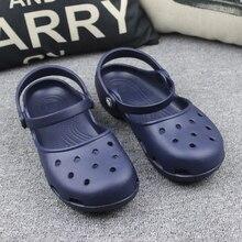 9e373571 Novedad Sandalias planas ligeras para mujer, zuecos de Mula baratos de  verano, zapatos de