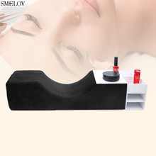 U-shaped eyelash pillow high rebound foam Grafting extension special Professional eyebrows.Beauty salon