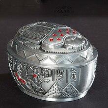 Египетские украшения дома аксессуары гостиной украшения Жук пепельница маленькая металлическая коробка ElimElim