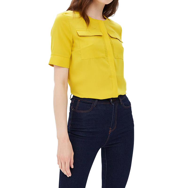 Blouses & Shirts MODIS M181W00991 women blouse shirt  clothes apparel for female TmallFS