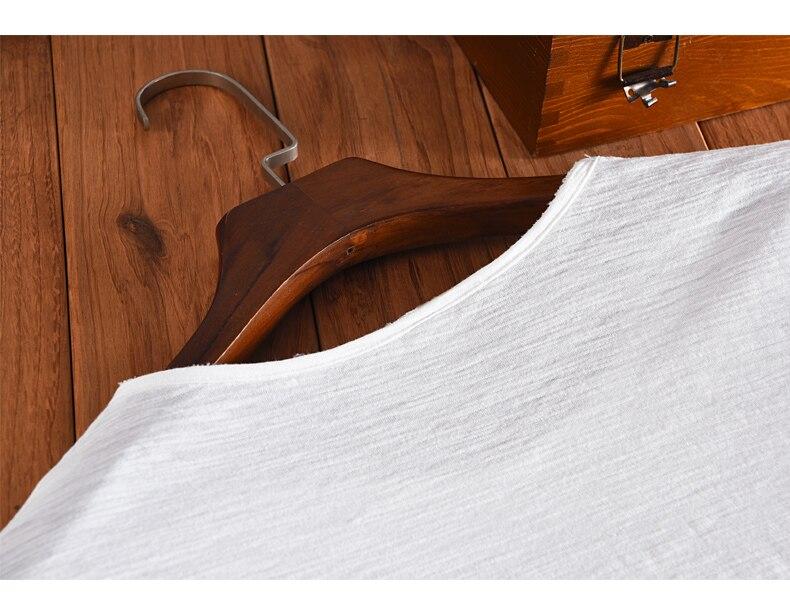 2017 Νέο στυλ καλοκαιρινό casual βαμβάκι - Ανδρικός ρουχισμός - Φωτογραφία 4