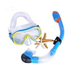 Adults Professional Scuba Diving Mask Snorkel Glasses One Set Anti-Fog Goggles Underwater Silicone Swimming Mask Swim Eyewear
