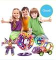 Brinquedo magnético 82 PCS Mini modelos magnéticos e de construção Kits 3D blocos de construção de Designer Set crianças brinquedos educativos para bebês